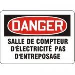 """Accuform MCEL123XL, French Sign """"Salle De Compteur D'electricite…"""""""