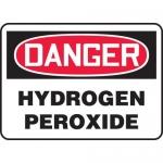 """Accuform MCHG077VA, Aluminum OSHA Sign """"Danger Hydrogen Peroxide"""""""