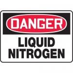 "Accuform MCHL115XP, Accu-Shield OSHA Sign ""Danger Liquid Nitrogen"""