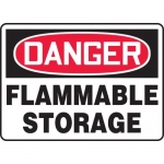 """Accuform MCHL150XF, OSHA Sign """"Danger Flammable Storage"""""""