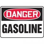 "Accuform MCHL212XP, Accu-Shield OSHA Sign ""Danger Gasoline"""