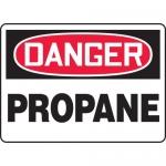"""Accuform MCHL215VA, Aluminum OSHA Sign with Legend """"Danger Propane"""""""