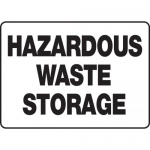 "Accuform MCHL519XF, OSHA Sign ""Hazardous Waste Storage"""