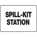 "Accuform MCHL522XP, Accu-Shield OSHA Sign ""Spill-Kit Station"""