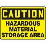 "Accuform MCHL677XL, OSHA Sign ""Hazardous Material Storage Area"""