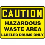 "Accuform MCHL690XL, OSHA Sign ""Hazardous Waste Area Labeled…"""