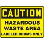 """Accuform MCHL716XF, OSHA Sign """"Hazardous Waste Area Labeled…"""""""