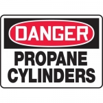 "Accuform MCPG102XF, OSHA Sign ""Danger Propane Cylinders"""