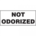"Accuform MCPG509VA, 7″ x 17″ Aluminum Sign with Legend: ""Not Odorized"""
