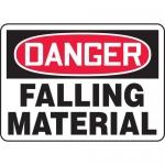"Accuform MCRT015VA, Aluminum OSHA Sign ""Danger Falling Material"""