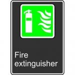 "Accuform MCSA953XL, Aluma-Lite Sign with Legend ""Fire Extinguisher"""