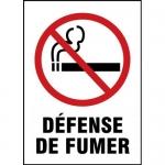 "Accuform MCSM526XL, Aluma-Lite French Sign ""Defense De Fumer"""