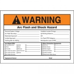 "Accuform MELC363XL, Aluma-Lite ANSI Sign ""Arc Flash and Shock Hazard"""