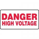 "Accuform MELC502XT, Dura-Plastic Safety Sign ""Danger High Voltage"""
