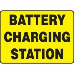 "Accuform MELC525XP, Accu-Shield Sign ""Battery Charging Station"""