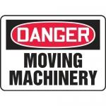 "Accuform MEQM064XL, Aluma-Lite Sign ""Danger Moving Machinery"""
