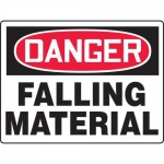 "Accuform MEQM212XT, BIGSigns Sign ""Danger Falling Material"""