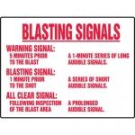 """Accuform MEQM503XL, BIGSigns Aluma-Lite Sign """"Blasting Signals…"""""""
