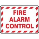 "Accuform MEXG524XF, Dura-Fiberglass Sign ""Fire Alarm Control"""