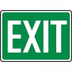 """Accuform MEXT521XL, 10″ x 14″ Aluma-Lite Sign: """"Exit"""""""