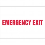 "Accuform MEXT563XL, 7″ x 10″ Aluma-Lite Sign: ""Emergency Exit"""