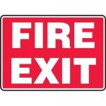 "Accuform MEXT590XL, 7″ x 10″ Aluma-Lite Sign: ""Fire Exit"""