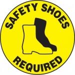 "Accuform MFS205, Slip-Gard Floor Sign ""Safety Shoes Required"""