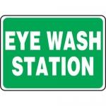 """Accuform MFSD411XL, 14″ x 20″ Aluma-Lite Sign: """"Eye Wash Station"""""""