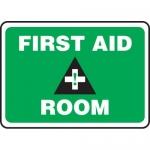 "Accuform MFSD974XF, 10″ x 14″ Dura-Fiberglass Sign: ""First Aid Room"""