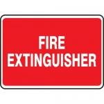 "Accuform MFXG470XL, 7″ x 10″ Aluma-Lite Sign: ""Fire Extinguisher"""