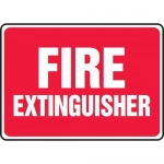 "Accuform MFXG477XL, Aluma-Lite Safety Sign ""Fire Extinguisher"""