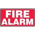 "Accuform MFXG579XL, 7″ x 14″ Aluma-Lite Sign with Legend: ""Fire Alarm"""