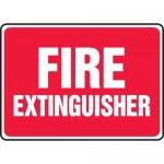 "Accuform MFXG588XL, Aluma-Lite Safety Sign ""Fire Extinguisher"""