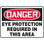 """Accuform MPPA007XP, Sign """"Eye Protection Required in This Area"""""""
