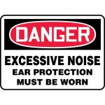 """Accuform MPPA026XP, Sign """"Excessive Noise Ear Protection Must Be Worn"""""""