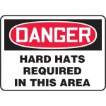 """Accuform MPPA029XT, Sign """"Hard Hats Required in This Area"""""""
