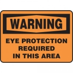 """Accuform MPPA300XL, OSHA Sign """"Eye Protection Required in This Area"""""""