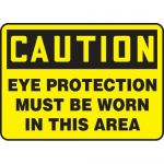 """Accuform MPPA607XL, Sign """"Eye Protection Must Be Worn in This Area"""""""