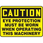 """Accuform MPPA611XL, Sign """"Eye Protection Must Be Worn When …"""""""