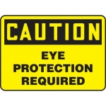 """Accuform MPPA615XP, Accu-Shield Sign """"Caution Eye Protection Required"""""""