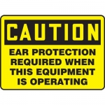 """Accuform MPPA634XP, Sign """"Ear Protection Required When This…"""""""