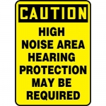 """Accuform MPPA637VP, Sign """"High Noise Area – Hearing Protection…"""""""