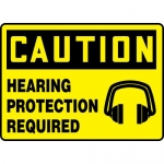 """Accuform MPPE776XL, Aluma-Lite OSHA Sign """"Hearing Protection Required"""""""