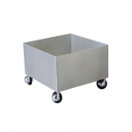 Bradley S19-690A, Four Wheel Cart for Eye/Face Wash Units