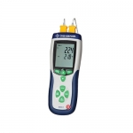 Digi-Sense WD-20250-17, 2 Input Thermocouple Thermometer with NIST