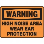 """Accuform MPPE302XP, Sign """"High Noise Area Wear Ear Protection"""""""