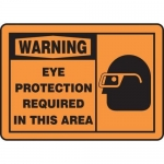 """Accuform MPPE319XT, Safety Sign """"Eye Protection Required in This Area"""""""