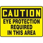 """Accuform MPPE624XL, OSHA Sign """"Eye Protection Required in This Area"""""""