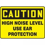 """Accuform MPPE670XP, Sign """"High Noise Level – Use Ear Protection"""""""