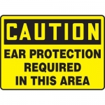 """Accuform MPPE682XL, OSHA Sign """"Ear Protection Required in This Area"""""""